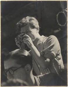 La fotógrafa Gerda Taro.