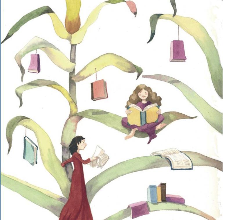 Portada del libro. Ilustración de Mónica Carretero.