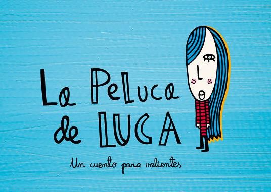 Cartel del corto La peluca de Luca.