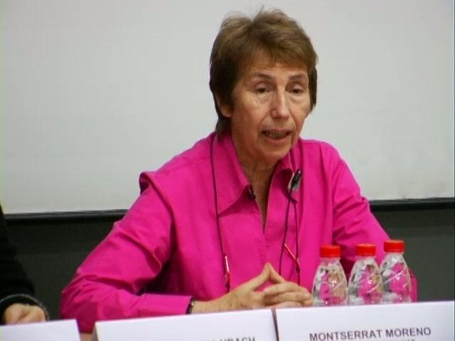 Montserrat Moreno.