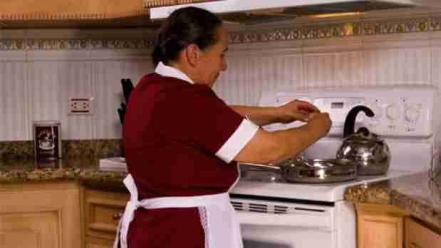 trabajadora doméstica