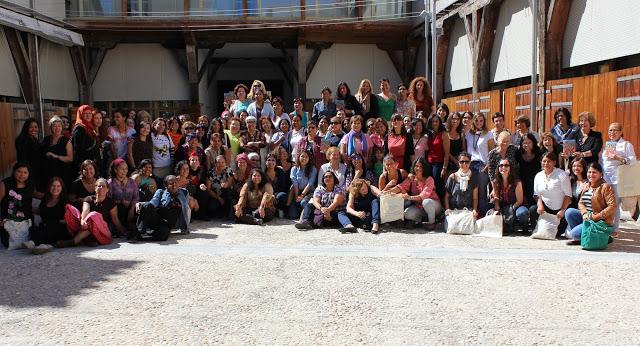 Foto de grupo de las asistentes al Encuentro
