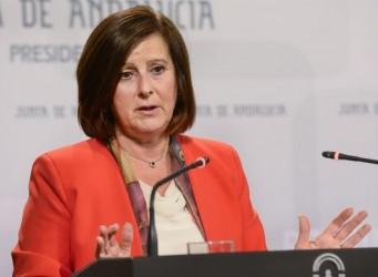 Foto de la Consejera de Igualdad de la Junta de Andalucía