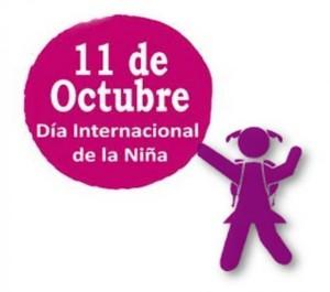 Logo del Día Internacional de las Niñas