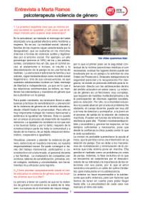 Entrevista a Marta Ramos