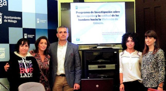 Imagen del concejal de Igualdad en Málaga