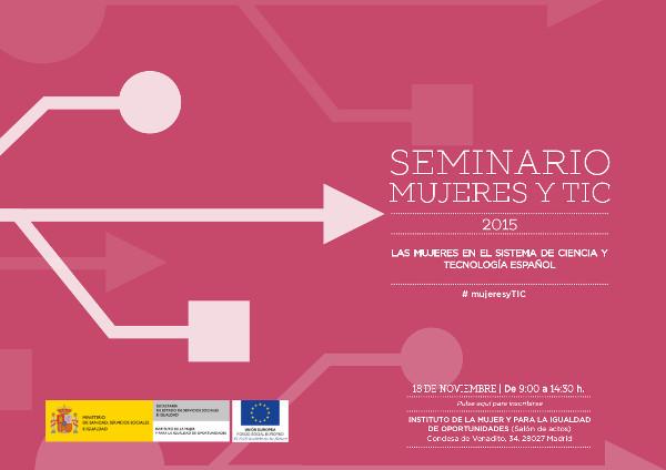 Programa del Seminario Mujeres y Ciencia