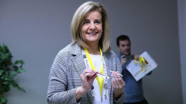 Imagen de la exministra de Empleo, Fátima Báñez