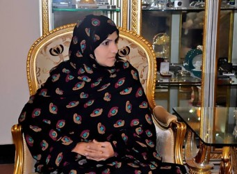 Imagen de la senadora Roghul Khairzad