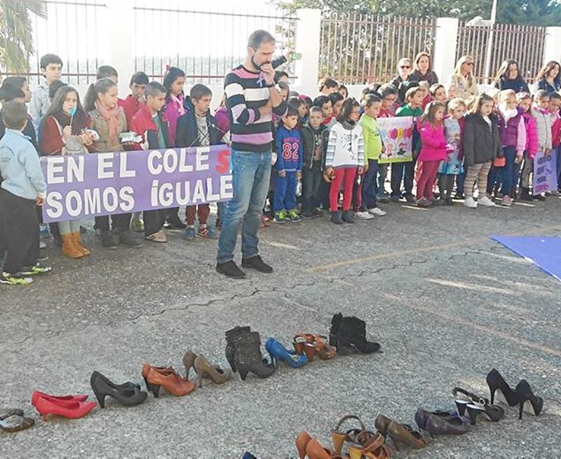 Una imagen de los alumnos en una de las actividades