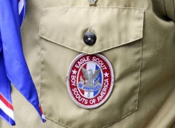 Insignia de un uniforme Scout