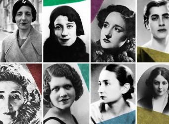 Imagen del proyecto Las Sinsombrero, en la que aparecen varias escritoras