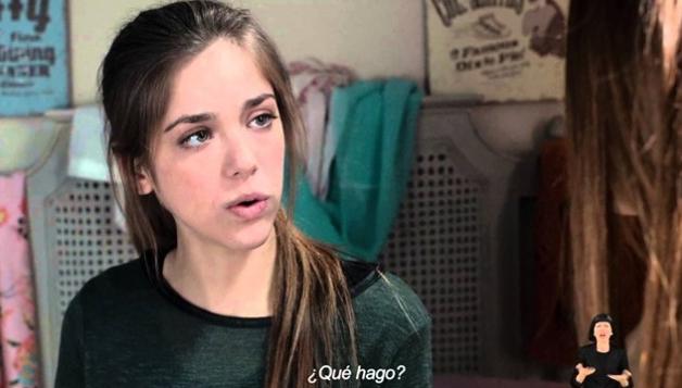 imagen de una adolescente