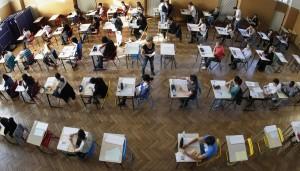 imagen desde arriba de una clase
