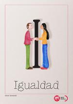 Imagen de la letra I del diccionario de Igualdad