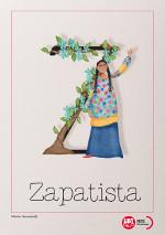Z de Zapatista (mujer indígena)