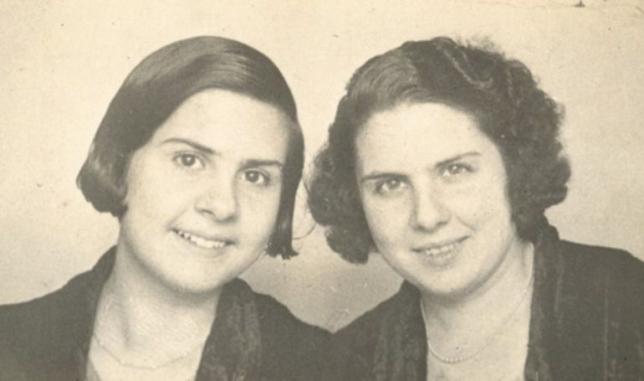 Imagen de Daria y Mercedes Buxoné, violadas y asesinadas por falangistas
