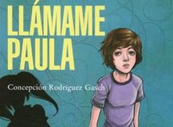 Imagen de la portada del libro, la joven Paula
