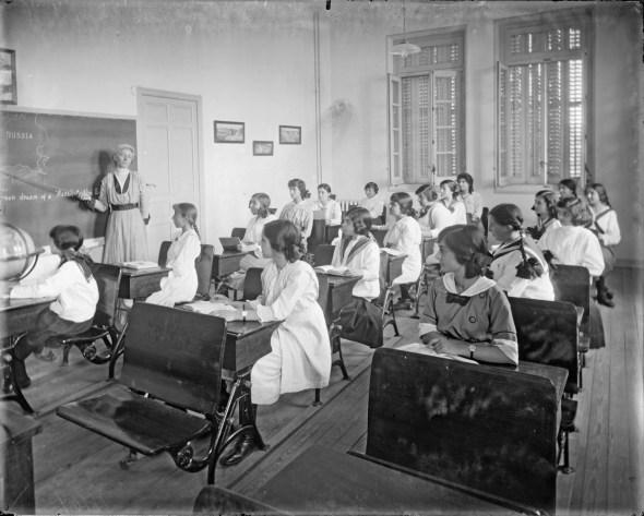 Imagen de una de las clases de la Residencia
