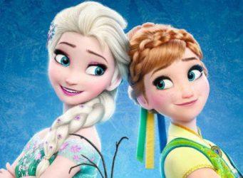 Imagen de las dos protagonistas de la película Frozen