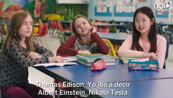 Una imagen del vídeo de la campaña