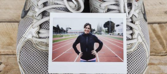 Imagen de la atleta Nuria Fernández