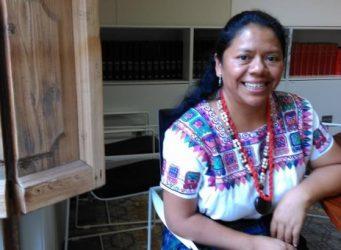 Imagen de la líder indígena Lolita