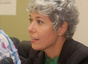 Imagen de la autora y periodista, Marta Gómez Casas