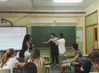 imagen de un taller de jóvenes