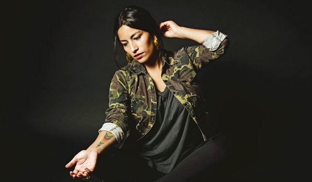 Imagen de la cantante Ana Tijoux