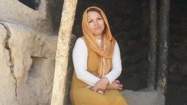 Imagen de la escritora Zahra Yaganah