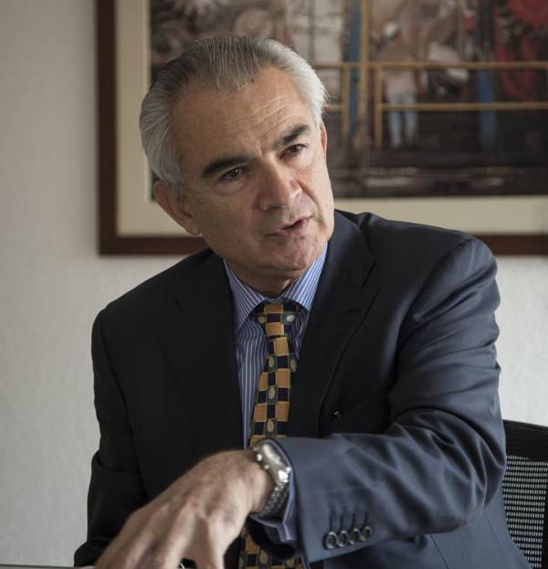 Imagen del Director de la OIT, J.M Salazar
