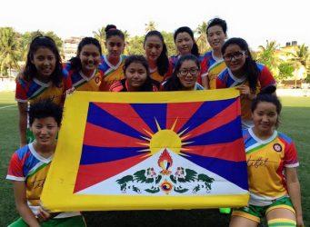 Imagen del equipo de fútbol femenino del Tíbet