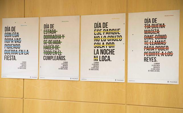 carteles de la campaña del Ayuntamiento
