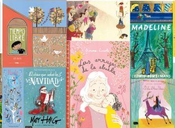 mosaico con las portadas de los libros recomendados