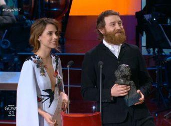 Imagen de Leticia Dolera en la entrega de los premios Goya