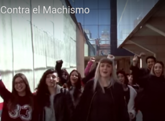 Fotograma del vídeo Jóvenes contra el machismo