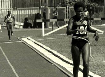 Imagen de la atleta Irenice Rodrigues
