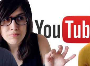 montaje con la imagen de varios youtubers