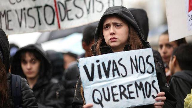 Imagen de una manifestación en Argentina