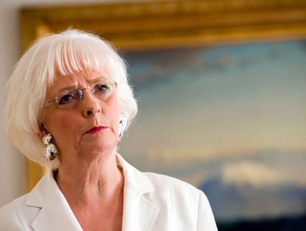 Imagen de la ex primera ministra