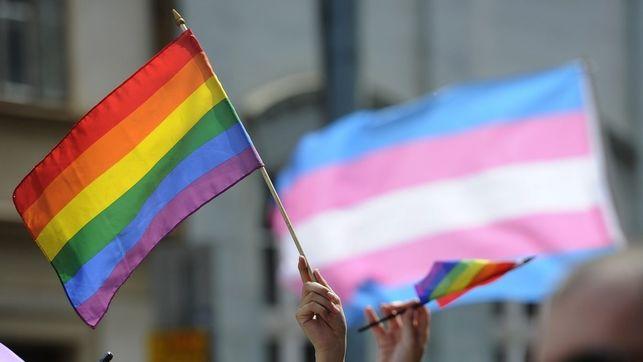 una imagen de la bandera arco iris