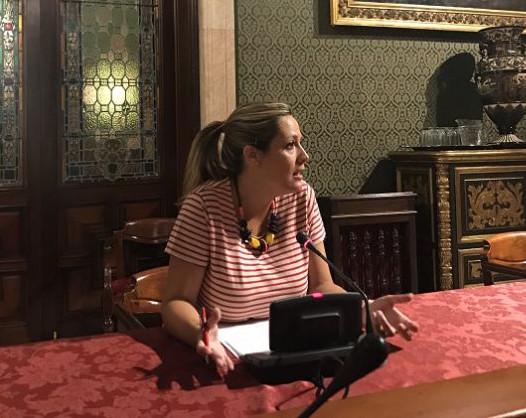 Imagen de la delegada Myriam Diaz