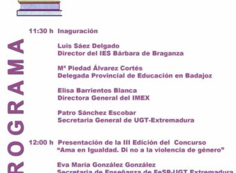 Cartel de las Jornadas de Extremadura