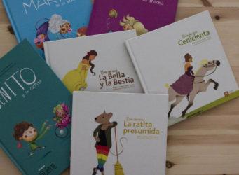 imagen de varios libros de cuentos
