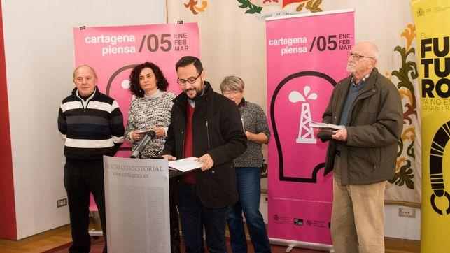 """Imagen de la presentacion del programa de """"Cartagena Piensa"""""""