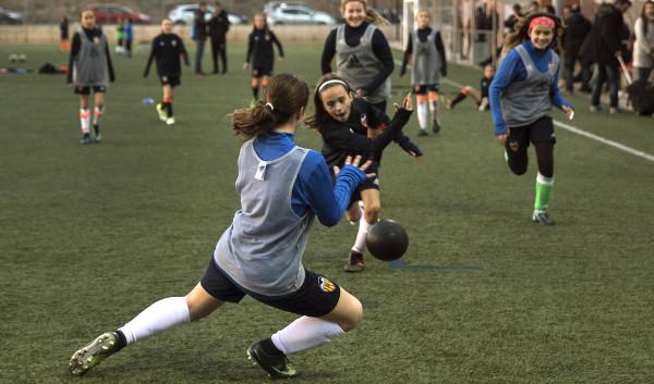 Imagen de las jugadoras del equipo femenino