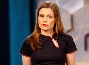 Imagen de la primera ministra islandesa