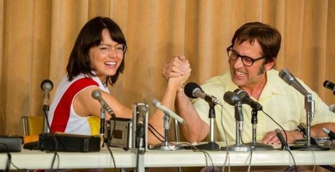 Imagen de la película La batalla de los sexos