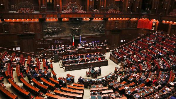 Imagen del Parlamento italiano
